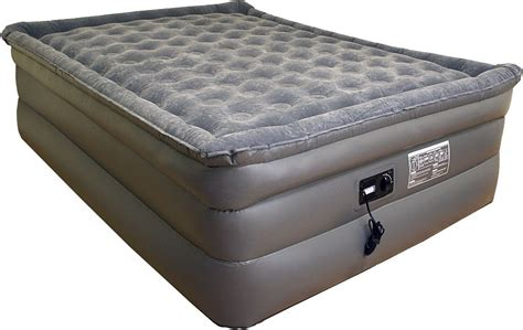 Size Air Mattress With Built In by Airtek King Size Air Bed Airbed Plush Pillow Top Mattress