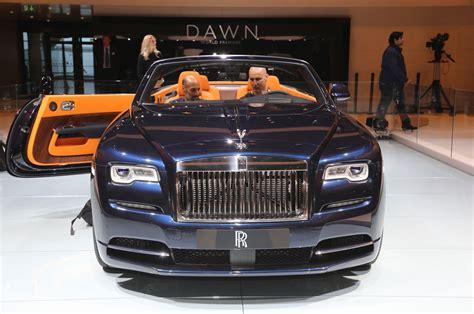 rolls royce dawn rolls royce dawn first look review