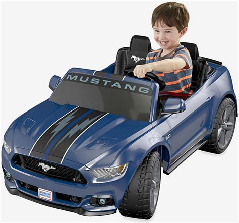 ford mustang gt power wheels features traction