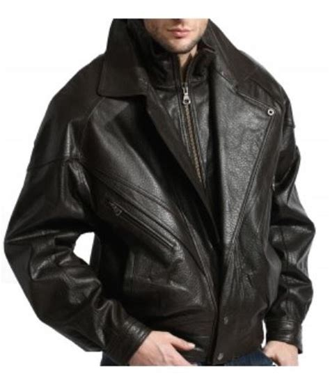 Bomber Lucky Gate Premium a classic collared leather bomber jacket in a premium grade lambskin black accessorygate