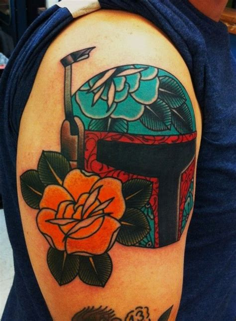 boba fett tattoos drew cottom amillion in tx boba fett