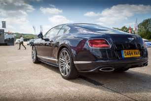 What Is A Bentley Driven 2015 Bentley Continental Gt Speed Coupe Review