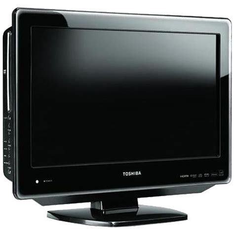 toshiba 19sldt3 19 quot lcd tv dvd player combo 19sldt3r b h