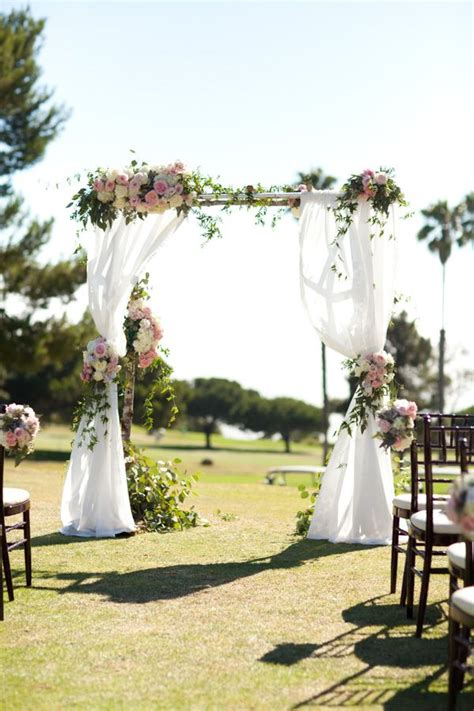 wedding arch draping inspiration arches arbors and chuppahs ultrapom