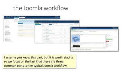 joomla workflow streamlining the client s workflows in joomla