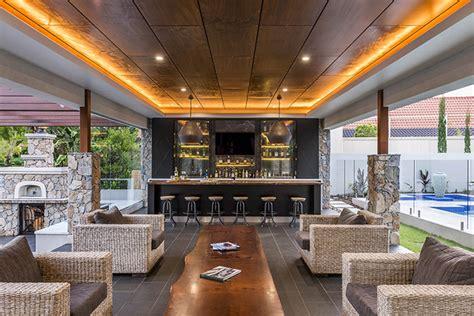 Functional Kitchen Design Enigma Interiors Outdoor Bar Queensland Homes Magazine