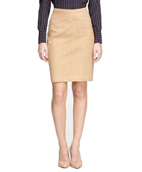 khaki skirt dressed up