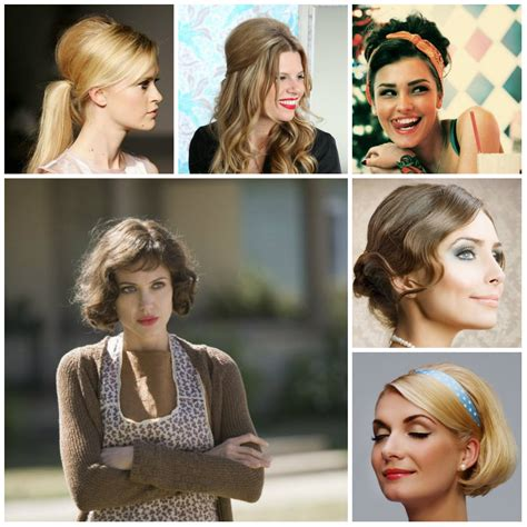 casual daytime hairstyles casual retro hairstyles 2017 new haircuts to try for