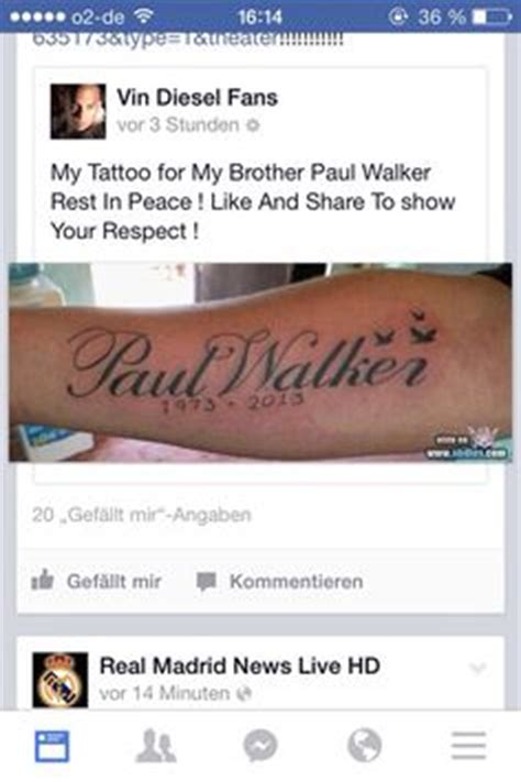 vin diesel paul walker tattoo 1000 images about fast and furious on fast