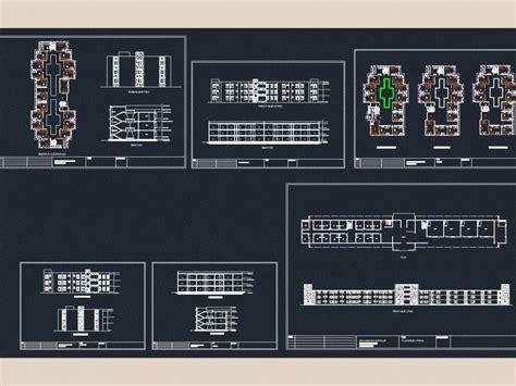 hostel dwg plan  autocad designs cad