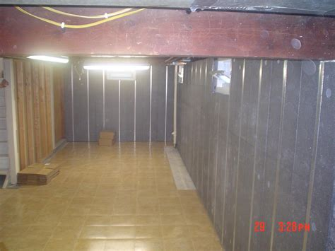 basement to beautiful panels and thermal flooring