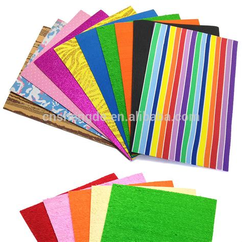 ethylene vinyl acetate sheet color glitter adhesive