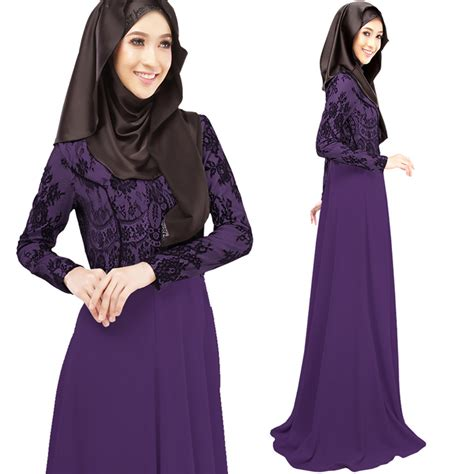 03 Abaya Maxi maxi muslim abaya jilbab islamic dress clothing