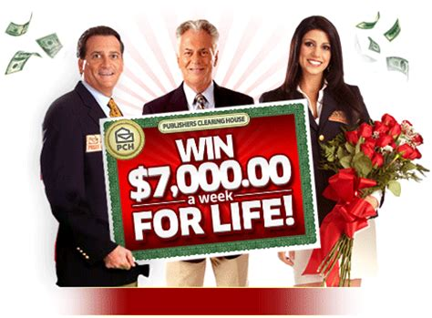 What Happens When You Win Publishers Clearing House - you could win 7 000 00 a week for life on april 30th pch blog