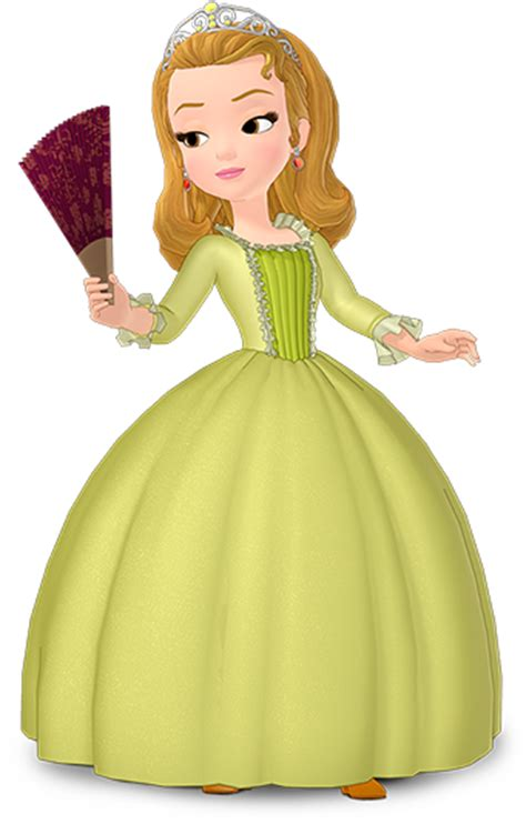 princess sofia and princess amber in sofia the first image amberwithfan png sofia the first wiki