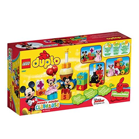 Lego Duplo Mickey Mouse Birtday Parade lego duplo l disney mickey mouse clubhouse mickey minnie birthday parade 689992290967 ebay