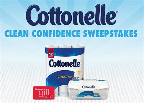 Cottonelle Sweepstakes - cottonelle clean confidence sweepstakes