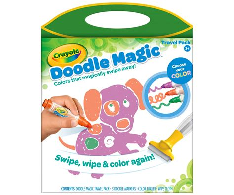 doodle magic doodle magic travel pack tray