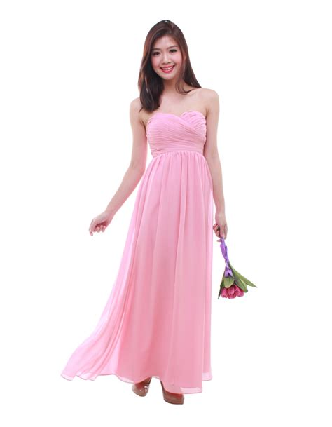Cleo Maxy 2 cleo maxi dress in blush the bmd shop your bridesmaid