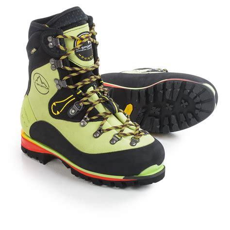 sportiva boots la sportiva tex 174 nepal evo mountaineering boots for