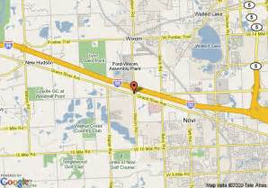 Comfort Suites South Haven Michigan Map Of Comfort Suites Wixom Wixom