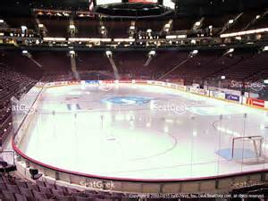 rogers arena section 105 seat views seatgeek