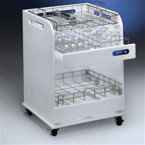 laboratory glassware storage cabinets scrubbermate glassware and rack cart labconco