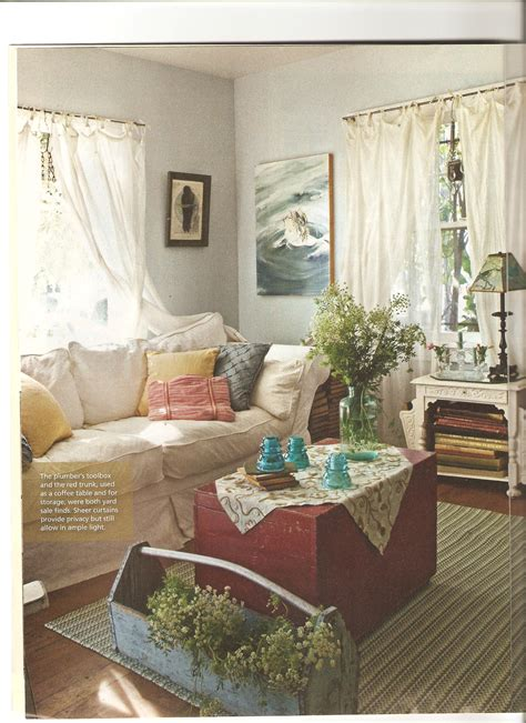 living room magazine artist hanson s cottage house