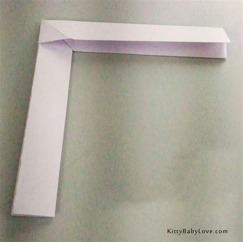 origami tutorial how to make a paper boomerang