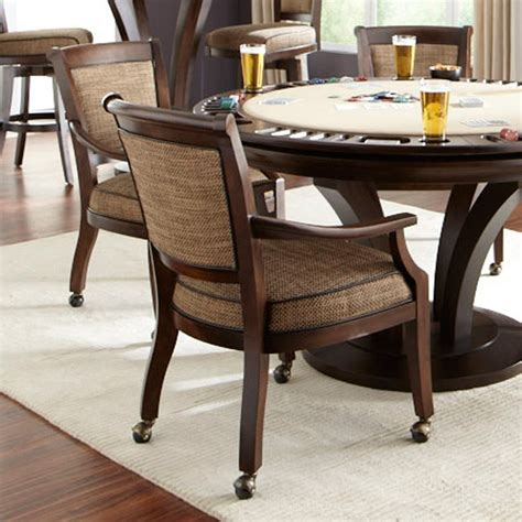 dining room chairs on wheels dining room dining room chairs with arms and casters