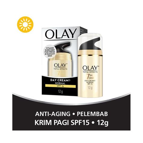 Pelembab Olay harga olay total effects 7 in one day normal spf 15