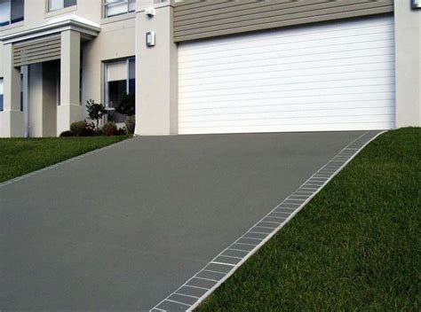 driveway pattern roller driveways inspiration the concrete firm australia