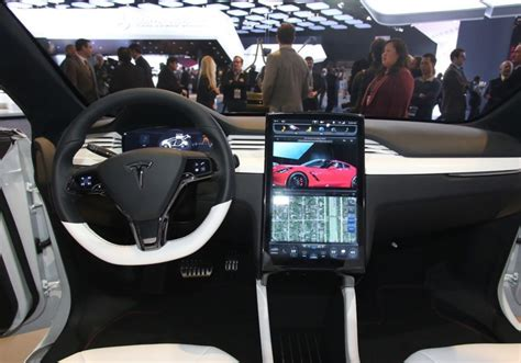 Model X Interior by 2016 Tesla Model X Interior Pictures To Pin On Pinsdaddy