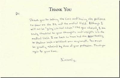 thank you letter after email or handwritten handwritten thank you letter after cover letter