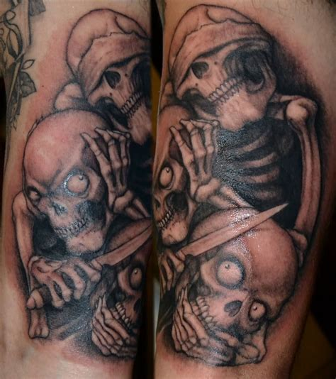 hear no evil tattoos hear no evil gallery