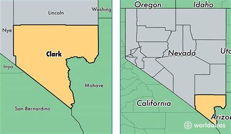 Las Vegas Constable Search Clark County Map Nevada My