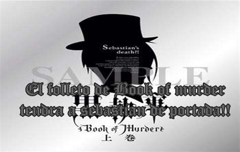 the colour of murder a sebastian foxley murder kuroshitsuji fan page el folleto de book of murder