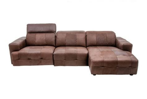 brown corner leather sofa tempest brown leather corner sofa absolute home