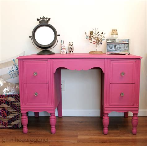 chalk paint pink custom pink chalk paint vanity in the garage 174