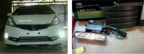 Lu Led Drl 6 Titik Putih hid led viva variasi mobil