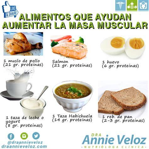 alimentos para subir masa muscular alimentos que aumentan la masa muscular dietas de