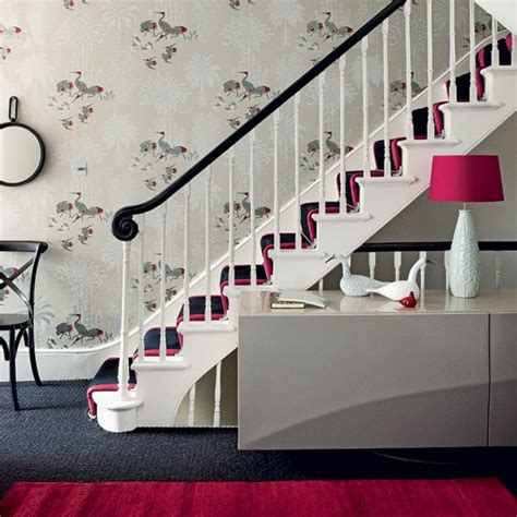 grey wallpaper hallway ideas add a touch of colour 10 wallpaper ideas for hallways