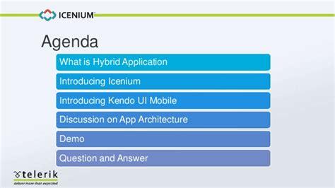 kendo ui mobile application create hybrid mobile application with icenium and kendo ui