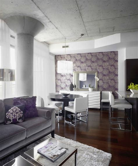 amazing interior decor ideas  purple details