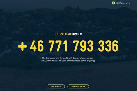 Person Lookup By Phone Number Australia The Swedish Number You Can Now Call Sweden And Chat To A Random Abc News
