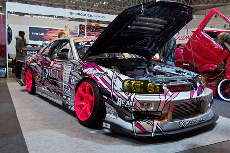 custom nissan skyline drift tokyo auto salon 2014 total coverage w video photo