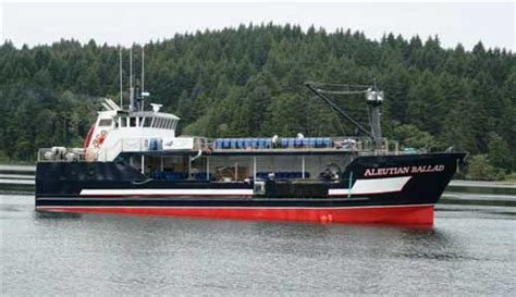 capsized fishing boat alaska f v aleutian ballad giddings boatworks