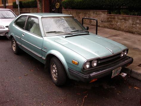 hatchback cars 1980s parked cars 1980 honda accord lx hatchback