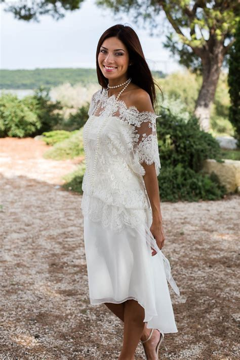 b07ldd2vx1 vacances sensuelles une collection de robe de mariee civile courte robe de mariage civil pas