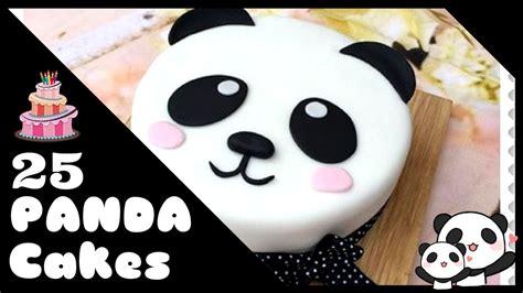 imagenes de tortas kawaii 25 panda cakes tortas de oso panda youtube